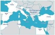 Mediterranean office for Youth: paesi partecipanti